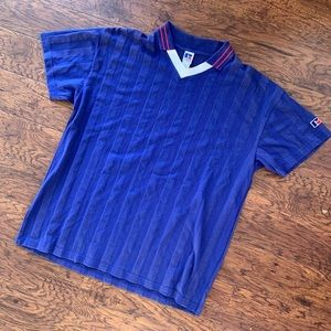 Russell Athletic Shirts - Vintage 90's Russell Athletics Soccer Jersey